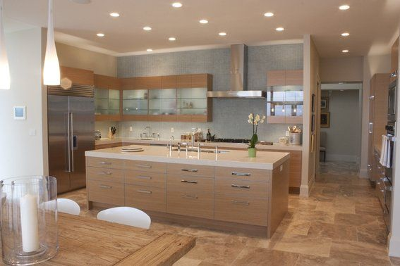 Best Custom Made Rift Sawn White Oak Modern Cabinetry White 640 x 480