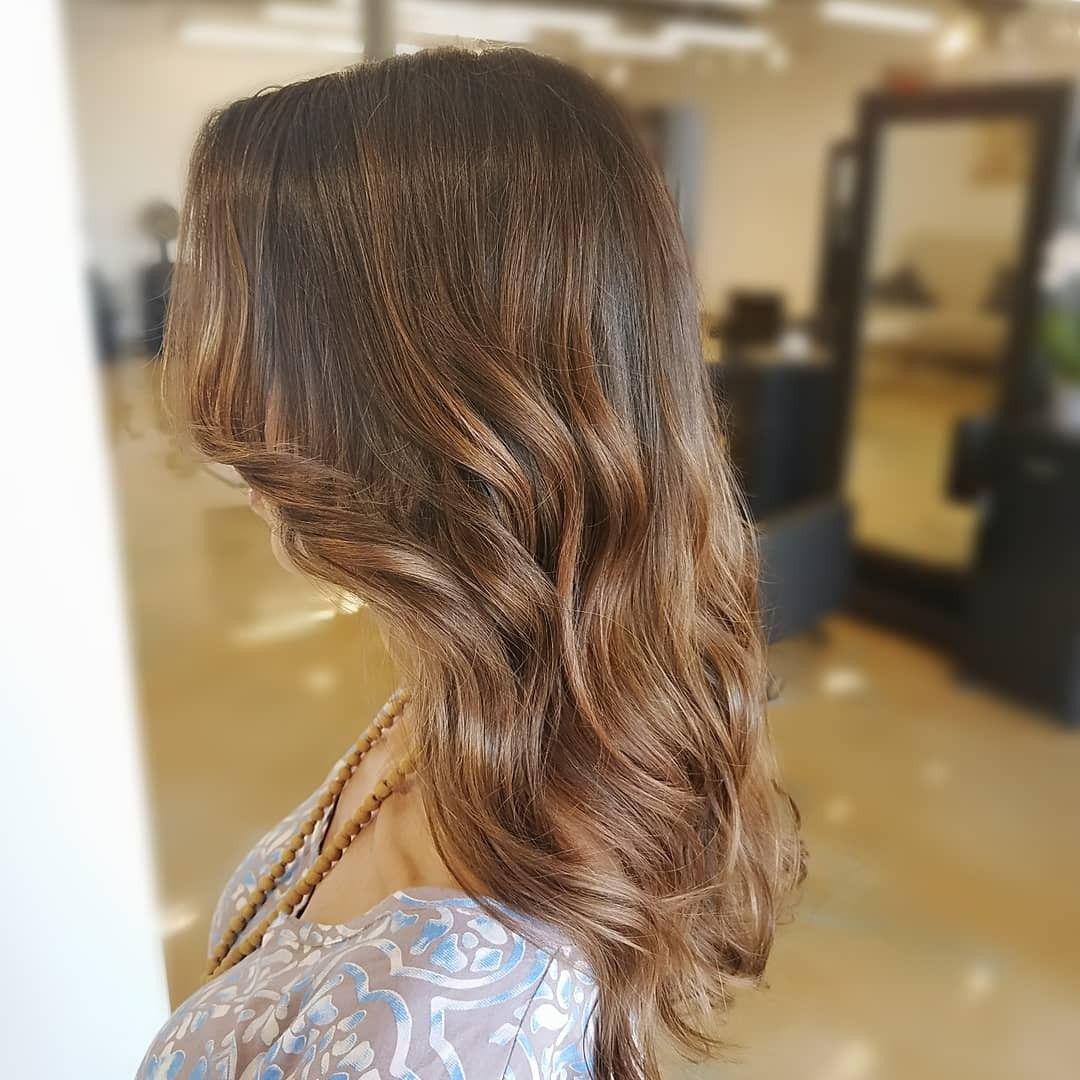 Fall caramel balayage   Long hair styles, Hair styles ...