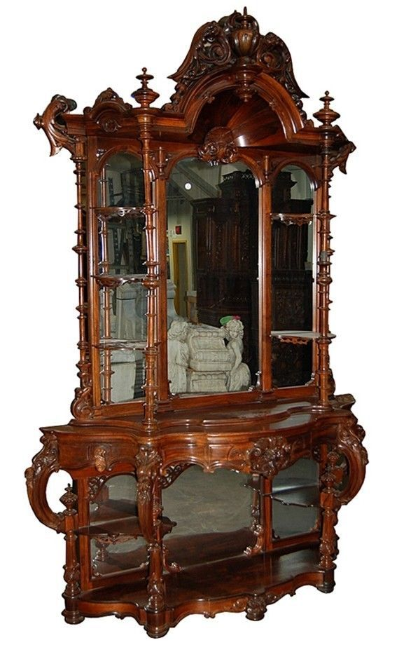 7302 Antique Rococo Carved Rosewood 201 Tag 232 Re By Thomas