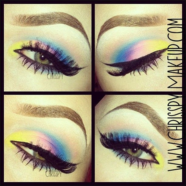 very very beautiful eye makeup and 1 of the most unique ...