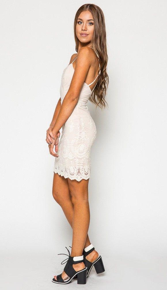 French Quarter Mesh Bodycon Dress