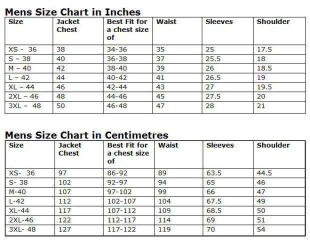 Mens jacket size chart http attireclub wordpress also rh pinterest