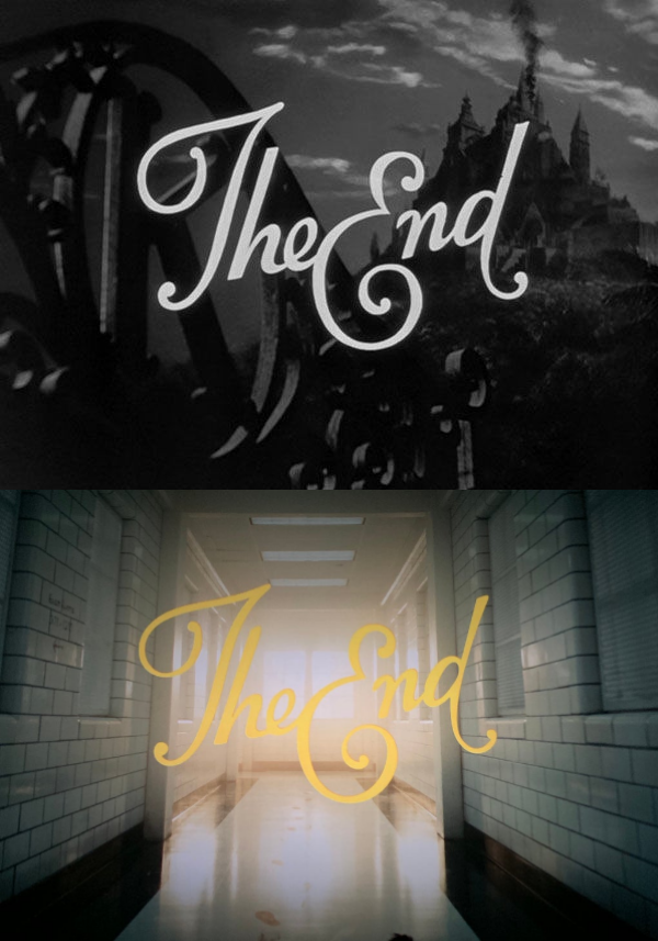 In Joker 2019 The Text Displaying The Words The End Is The Same As The End Text Of Citizen Kane 1941 Vinyl Decal Projects Poster Prints The End Movie