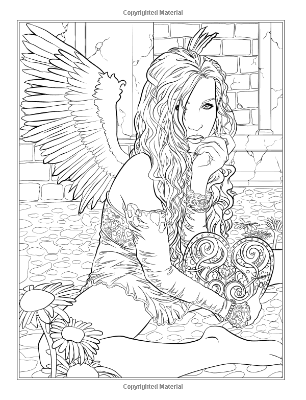 Amazon.fr - Gothic - Dark Fantasy Coloring Book - Selina Fenech ...