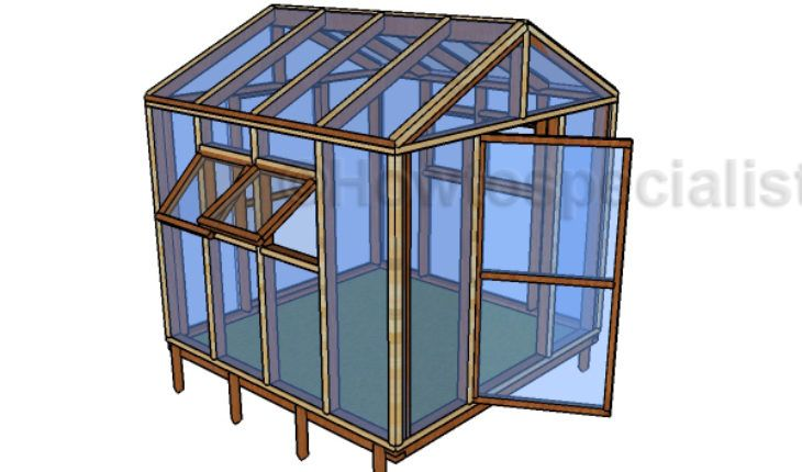 8 8 Greenhouse Plans Step By Step Guide Home Greenhouse
