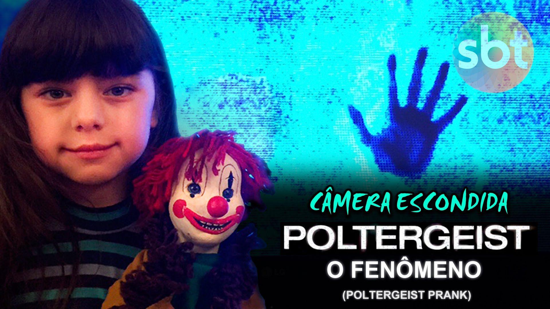 Poltergeist O Fenomeno Poltergeist Prank Pegadinha Camera