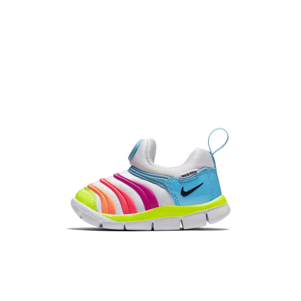 Nike Dynamo Free Infant/Toddler Kids' Shoe Size 10C (Blue)