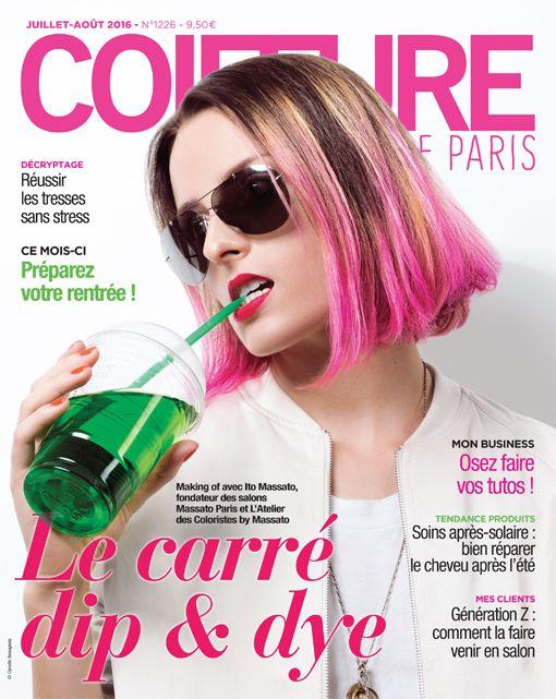 Coiffure de Paris N°1226. Juillet-Août 2016. © Cyrielle Beaugeois ...