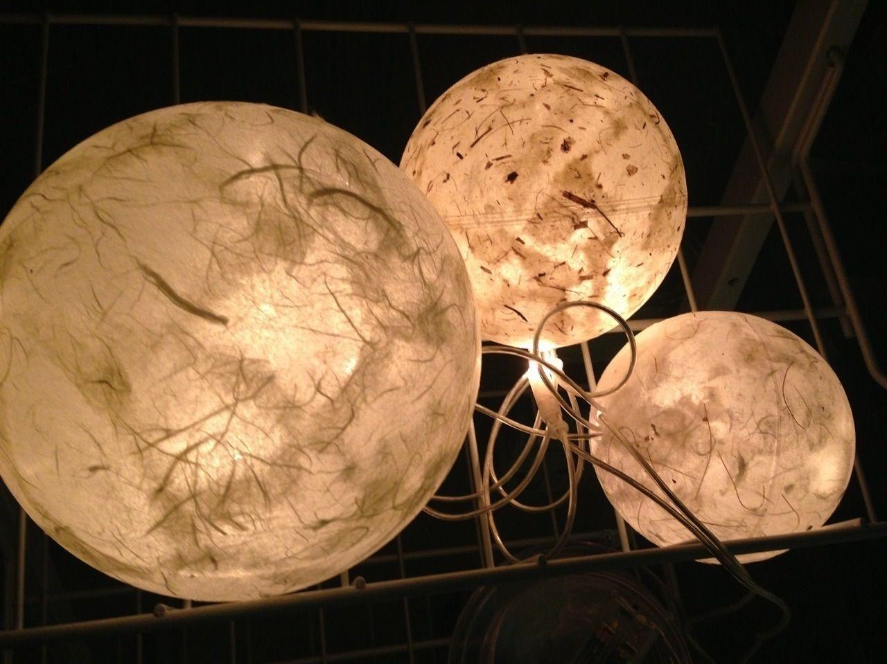 Fresh Leuchtkugeln Serviettentechnik mit Lichterkette