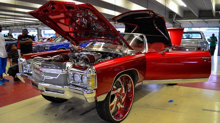 Stuntfestkatlantamotorspeedwaycarshowdonkboxbubblerides - Classic car show atlanta