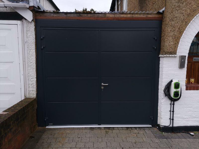 Side Hinged Garage Door Swr Redefining Homes In 2020 Side Hinged Garage Doors Garage Doors Side Door
