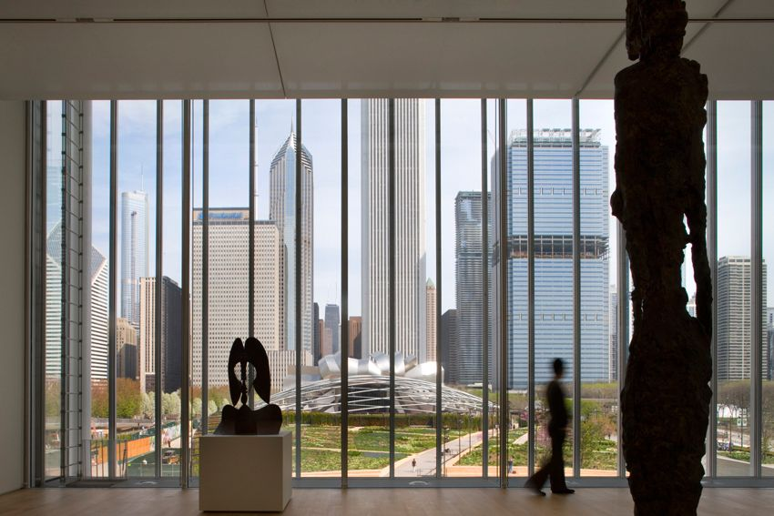 Modern Wing at the Art Institute of Chicago/ Renzo Piano