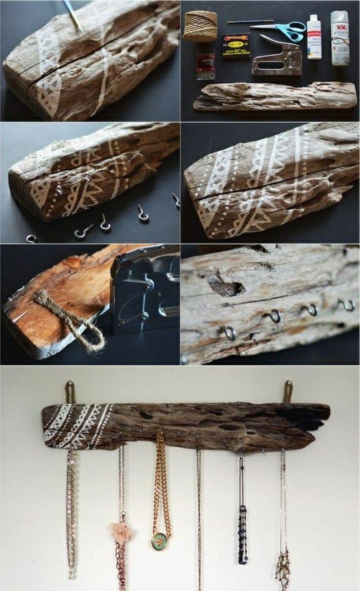 Treibholz Basteln 6 basteln mit treibholz haken aus holz selber machen diy kreativ