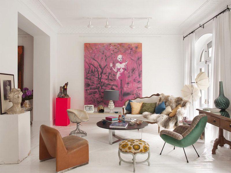 Ecléctico, bohemio y casual, un piso en Madrid | Ministry of Deco ...