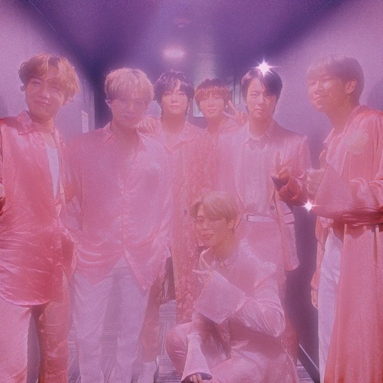 Bts 90s Group Photo Bts Aesthetic Pictures Bts Aesthetic Wallpaper For Phone Pink Aesthetic BTS aesthetic wallpaper photo
