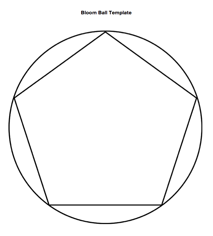 bloom ball template