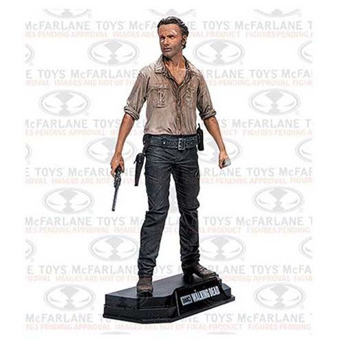 Walking Dead Rick Grimes 7-Inch Color Tops Red Wave # 1 Action Figure Pre-Order Coming Oct 2016 *