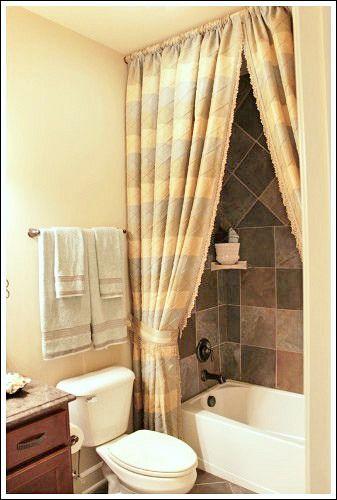 23 Elegant Bathroom Shower Curtain Ideas Photos Remodel
