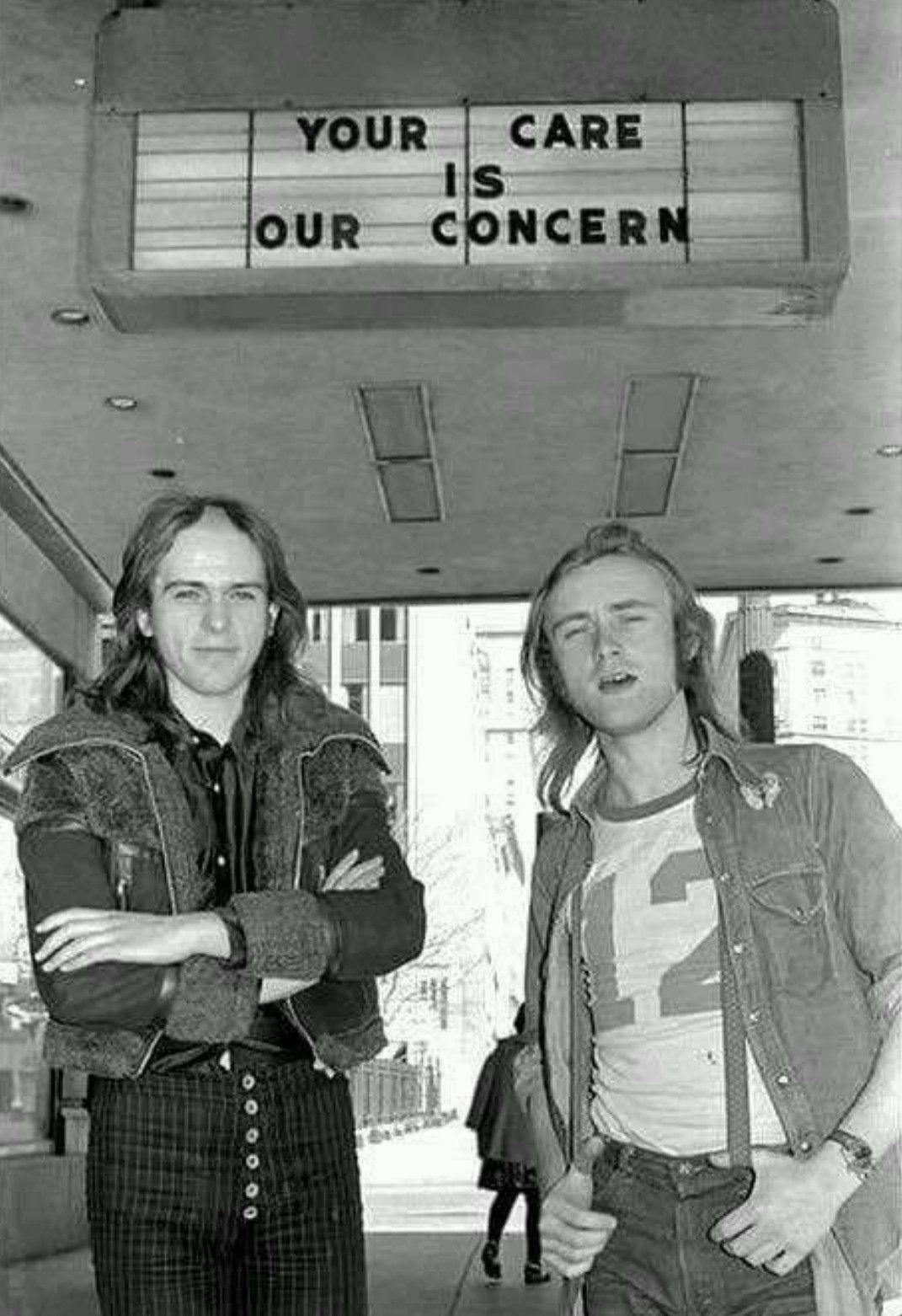 Phil Collins And Peter Gabriel