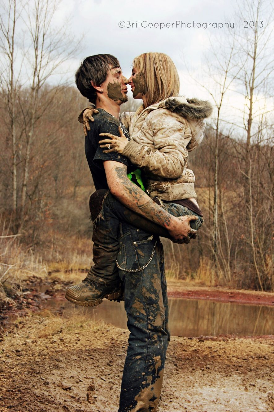 I 39 d love to have a mud wrestling mudding photoshoot with for Love picture ideas