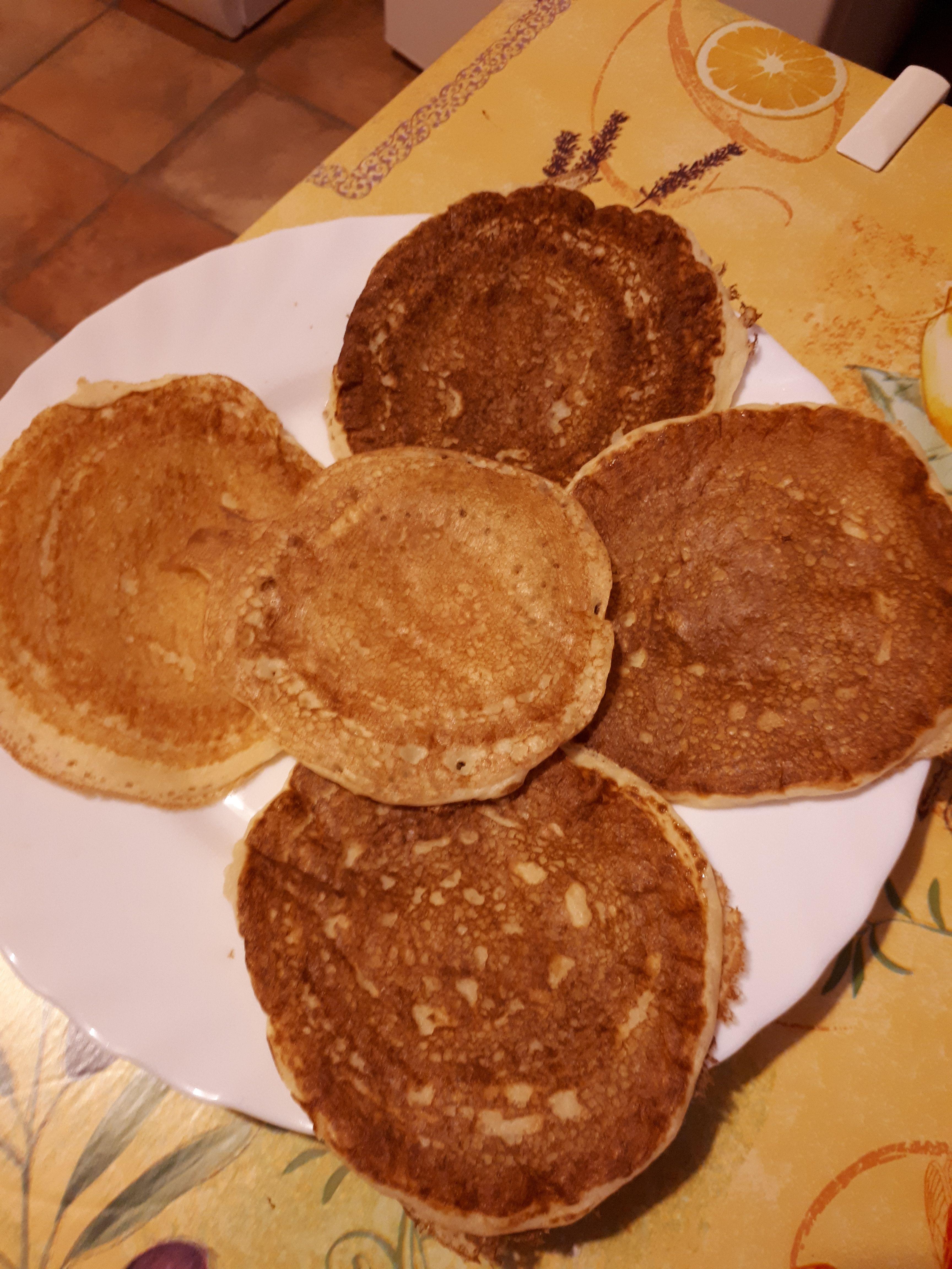 Pancakes allégés Food, Breakfast, Desserts