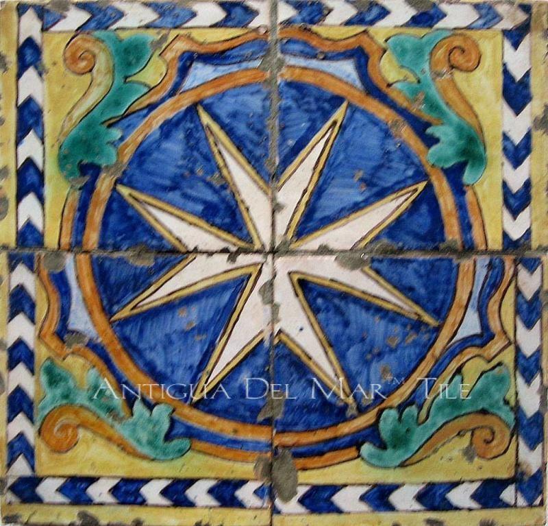Tiles Antique Vintage Tile