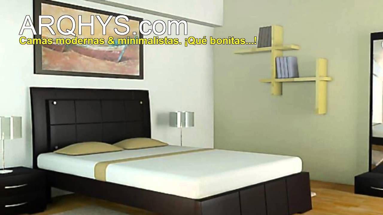 Camas Muebles Y Mobiliarios Modernos Y Minimalistas Youtube  # Muebles Total Zeta