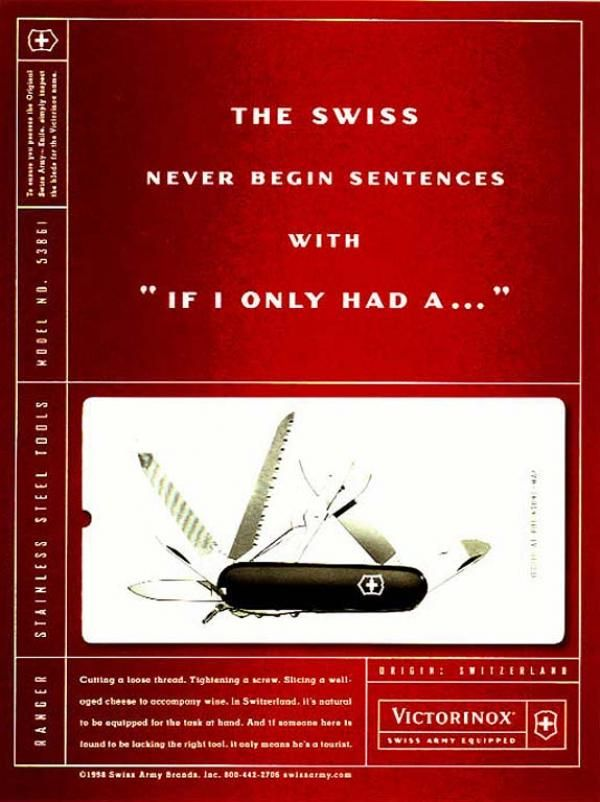 Pocket Knife Quot Sentences Quot Print Ad By Mullen Advertising