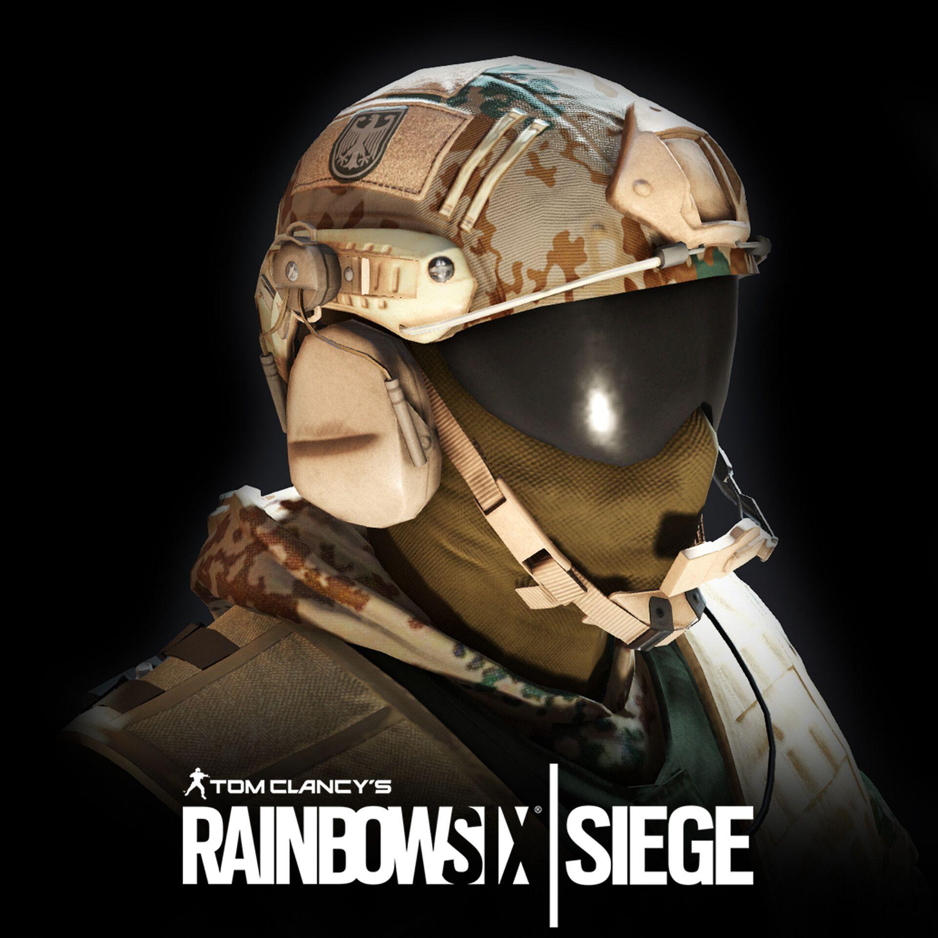 Rainbow Six Siege Jäger Desert by Eric GarciaI was