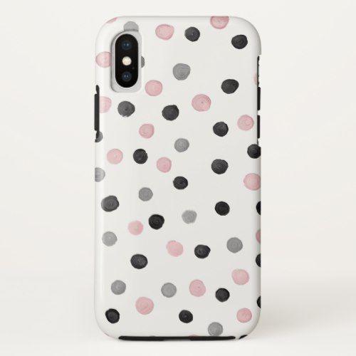 the latest d3f8f 20d20 Polka Dot iPhone X Case | Zazzle.com | Cool iPhone X Cases | Polka ...