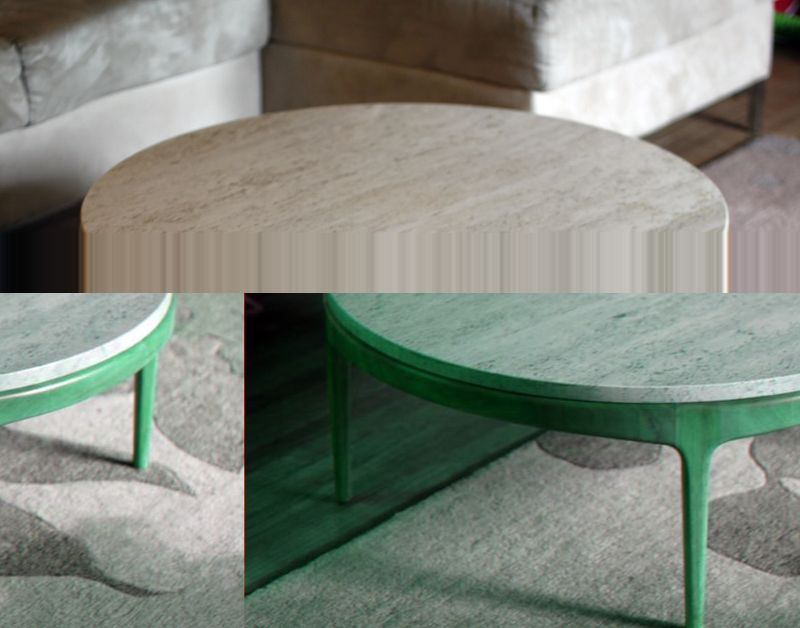marble + retro + round... now thats a coffee table i can do