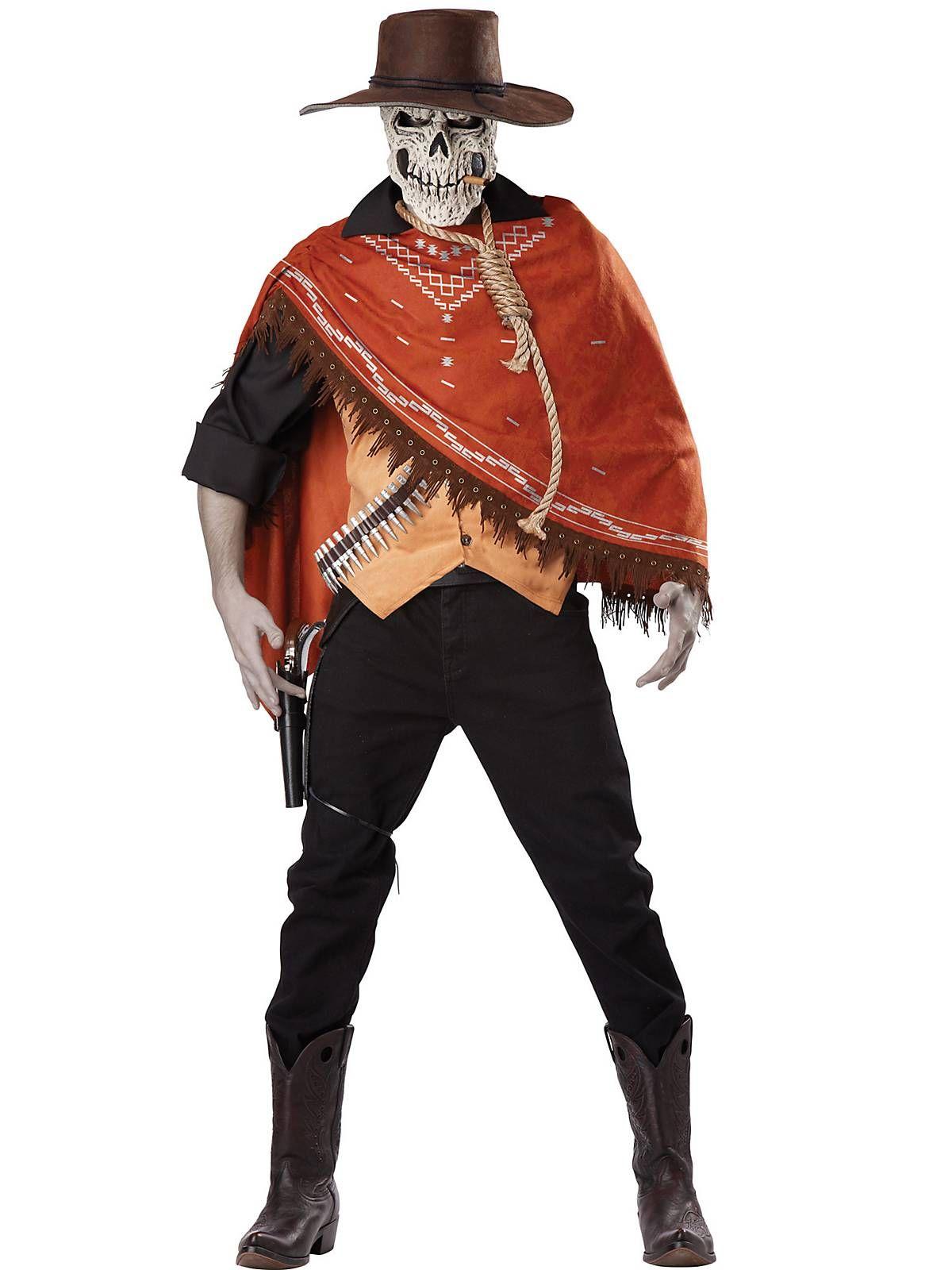 Halloween Costumes Scary Men.Outlaw S Revenge Costume Wholesale Horror Costumes For Men