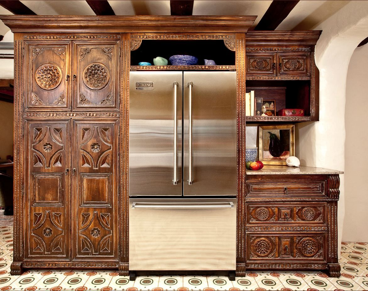 custom spanish style furniture. Spanish Colonial Carved Custom Cabinets Portfolio Picture Of La Flora Blanca Kitchen. I Love How This Combination Cabinet Door Styles Turned Out! Style Furniture D