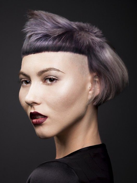 styling grey hair grey hairstyles inspiration avant garde hair 9216