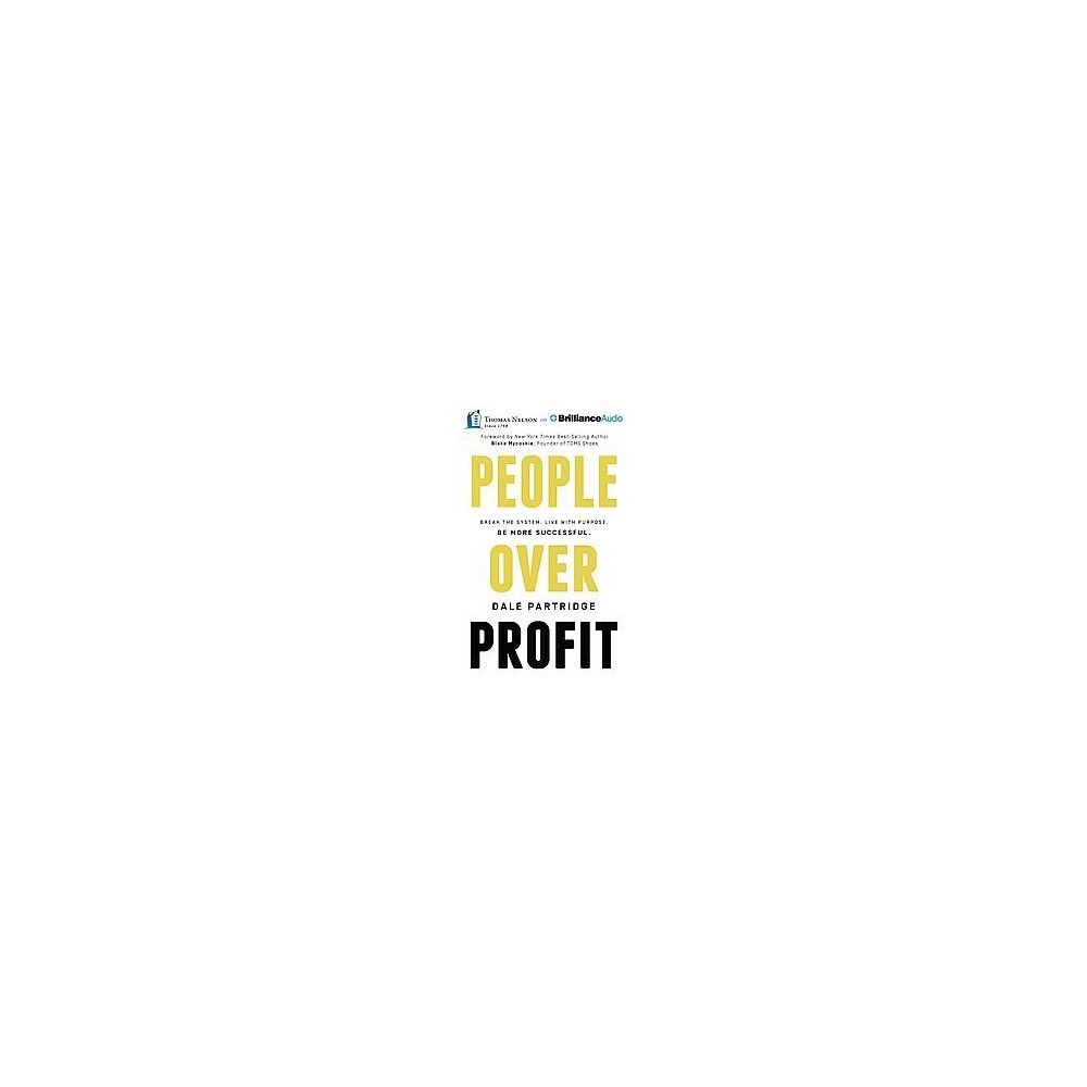 People over Profit (Unabridged) (Compact Disc)