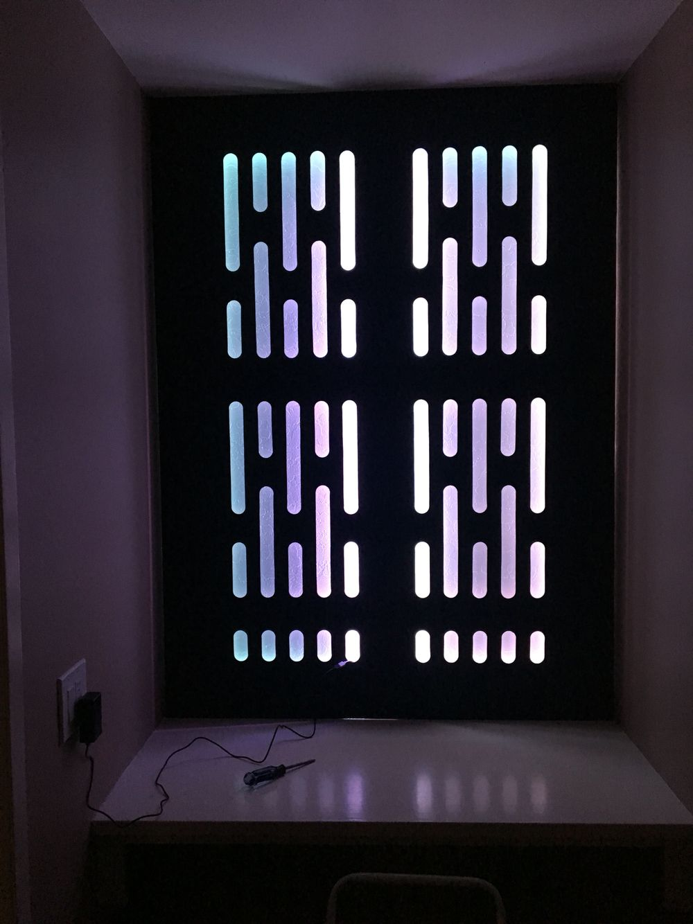 Death star custom wall panel with rgb lighting star wars death star custom wall panel with rgb lighting nvjuhfo Images