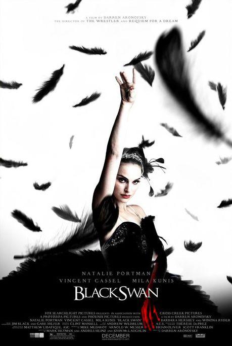 Black Swan   Rivalités dans la troupe du New York City Ballet. Nina est prête à tout pour obtenir le rôle principal du Lac des cygnes que dirige l'ambigu Thomas. Mais elle se trouve bientôt confrontée à la belle et sensuelle nouvelle recrue, Lily...