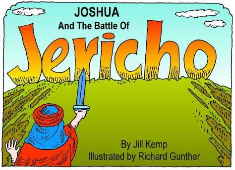 Joshua And The Battle Of Jericho Printable Book