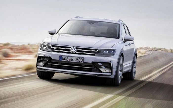 Volkswagen представил повзрослевший Tiguan видео