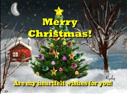 Dear All I Would Like To Bring To You This Heart Warming Animated Ecard P Merry Christmas Greetings Merry Christmas To All Merry Christmas And Happy New Year