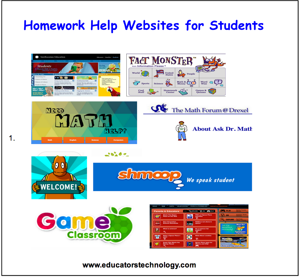College homework help websites