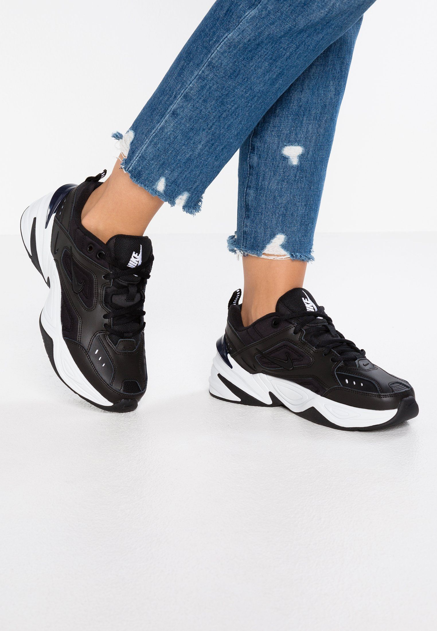 M2K TEKNO Baskets basses blackoffwhiteobsidian