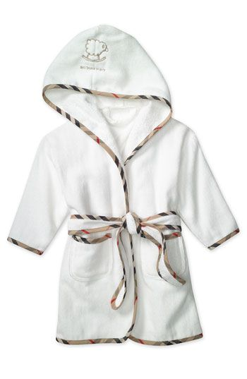 Embroidered Personalised Soft Baby Dressing Gown Bath Robe waffle babys new 2019