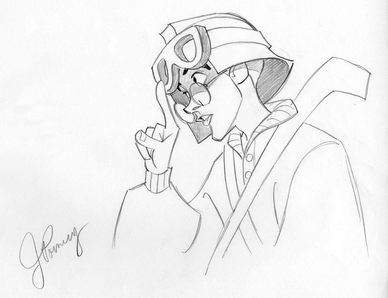 Disney Atlantis Character Design : Character design of milo from disney s quot atlantis by john