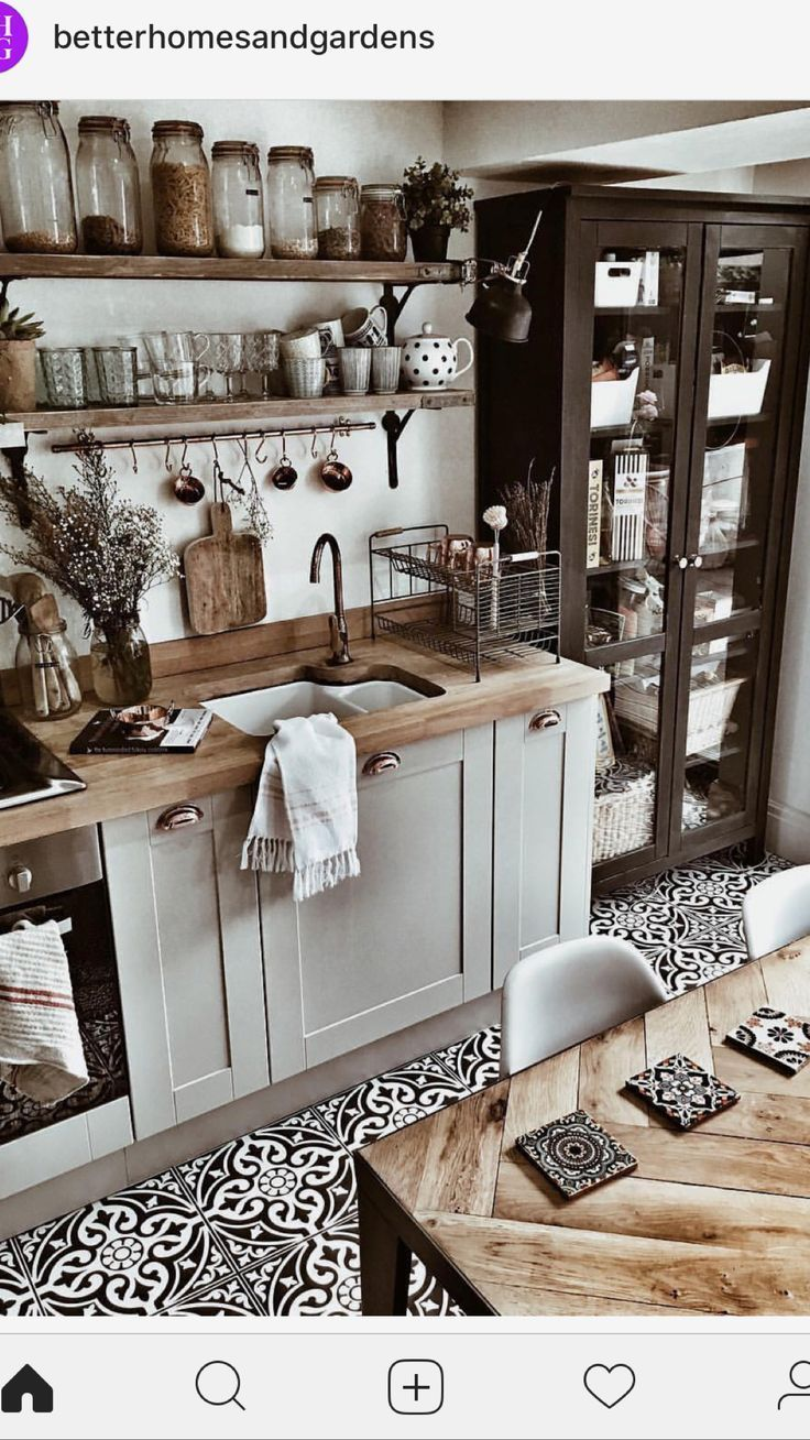 Photo of Kitchen ideas furnishing country house with wood, white, decoration