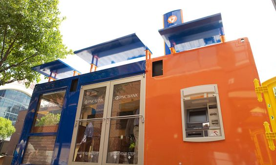PNC Rolls Out First Ever Portable PopUp Branch Pop up