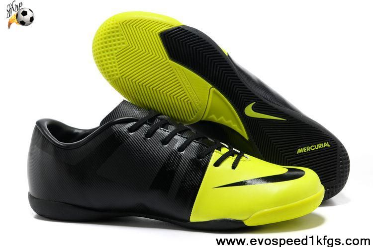 info for dc6c5 b0686 New Volt-Black-Black Nike Green Speed GS Football Shoes On Sale
