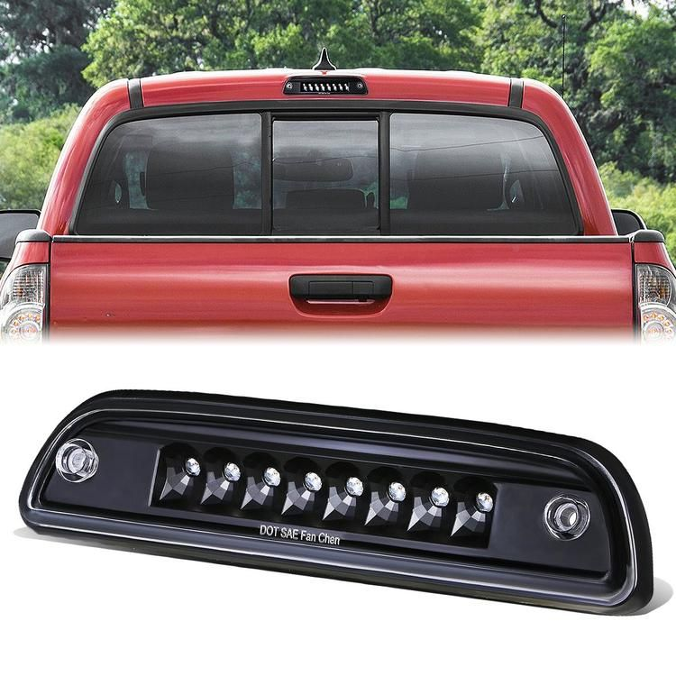 95 17 Toyota Tacoma Led Third 3rd Tail Brake Light Black Housing