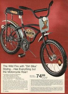 """Wildfire Dirt Bike : wildfire, Fire"""", Bicycle, Bicycle,, Vintage, Bikes,, Lowrider"""