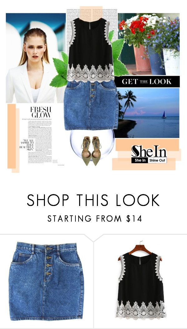 """""""Shein"""" by brigitte-klaudia ❤ liked on Polyvore featuring MISCHA and Steve Madden"""